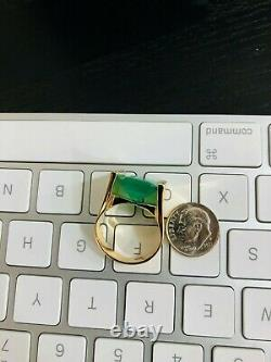 Antique GIA Certified 18K Gold Men's 10.8Ct Colombian Emerald Ring F2 / $50K