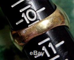 MENS VINTAGE 14K RING With GENUINE 1910 5 DOLLAR INDIAN U. S. GOLD COIN SIZE 10-1/2