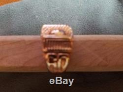 MIT Class Ring Vintage Balfour 10K Yellow Gold Mens Excellent Condition