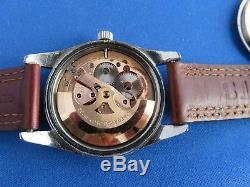 Omega Vintage SEAMASTER AUTO CAL 552 24J 1960'S SS/GOLD BEZEL RING MENS Watch