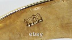 Vintage 1980s 10K Yellow Gold Mens Nugget Style Ring Size 10
