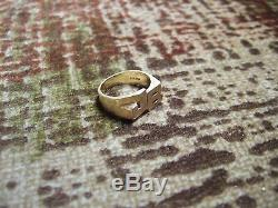 Vintage Solid 14K Yellow Gold Men's Ring 9.5 grams weight